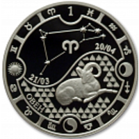 Реверс монеты «Овен-14»